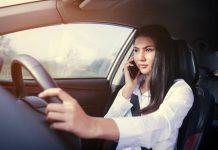 คุยโทรศัพท์ในรถยนต์