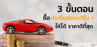ซื้อประกันรถชั้น-1-ให้ได้ราคาดีสุด