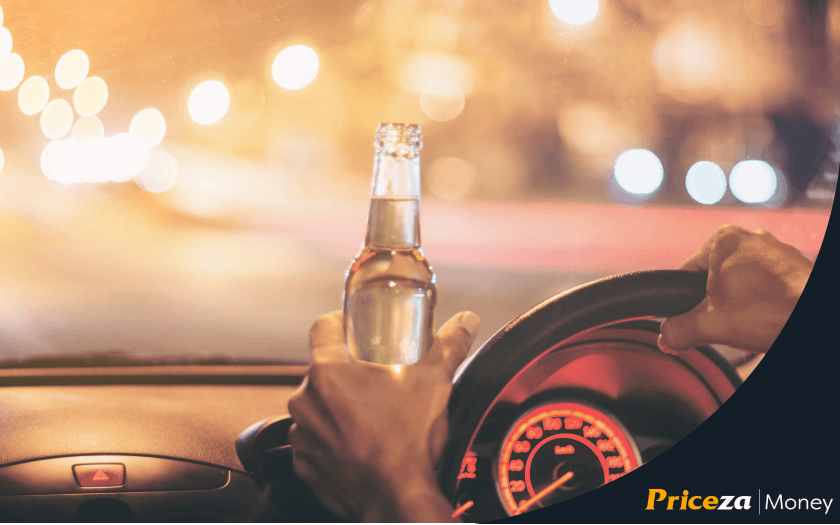 ดื่มขณะขับ